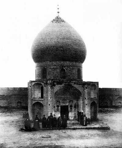 عکس قدیمی از حرم امام حسین