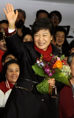 رییس جمهور زن کره جنوبی