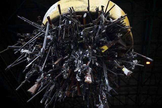 امحای صدها اسلحه غیرمجاز