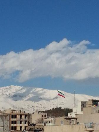 آسمان آبی تهران
