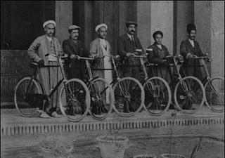 عکس قدیمی دوچرخه