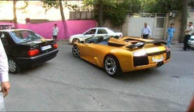 جولان ماشین هاي گران در پایتخت (عكس)