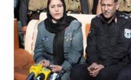 یک زن به فرماندهی پلیس کابل منصوب شد