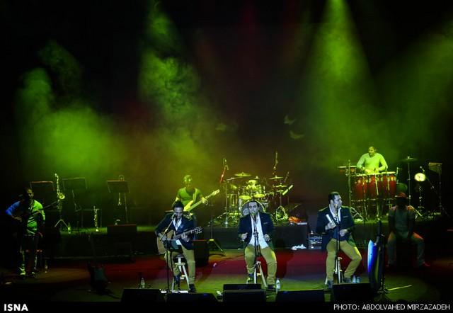 تصاویر کنسرت گروه سون در تهران