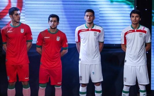 پیراهن جدید تیم ملی ایران