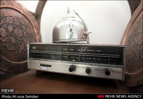 عکس رادیو قدیمی