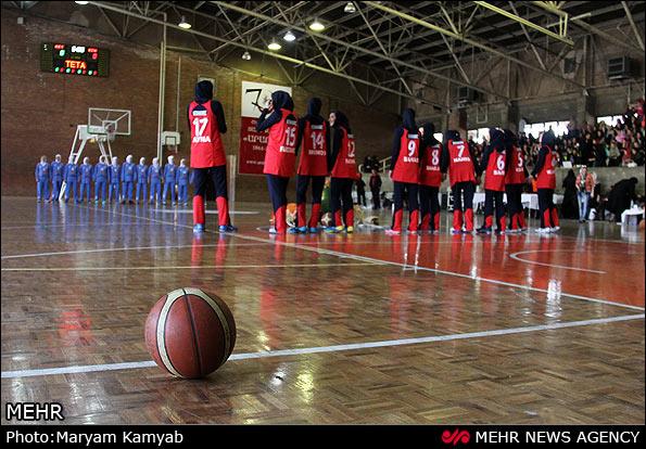 مسابقات بسکتبال زنان (عکس)