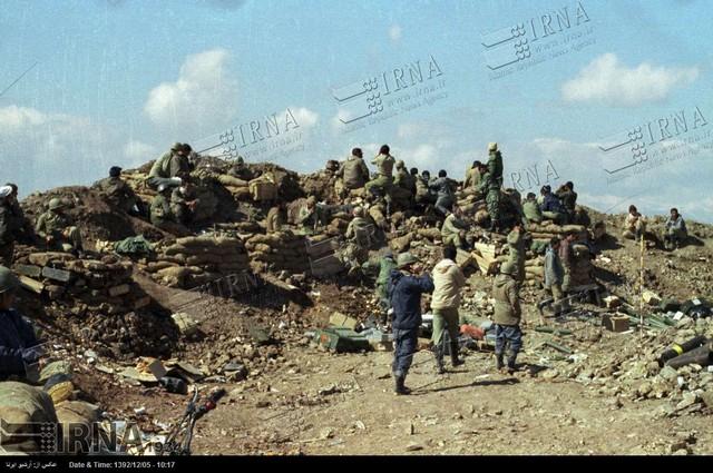 قرچک منطقه چند است تصاویری از عملیات والفجر 9 شرق سلمانیه عراق