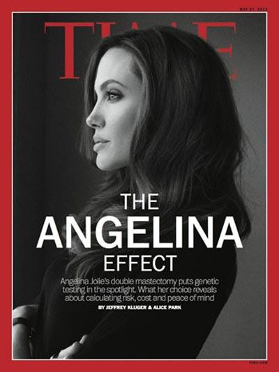 286931 613 آنجلینا جولی روی جلد مجله تایم +عکس