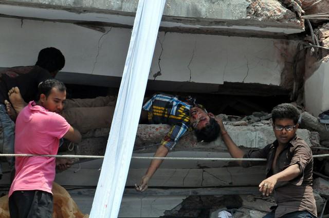 ریزش ساختمان در بنگلادش