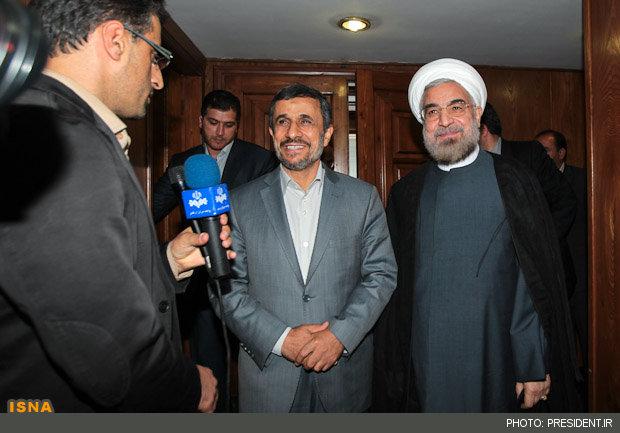 احمدی نژاد در انتخابات و  96 شکست روحانی ؟