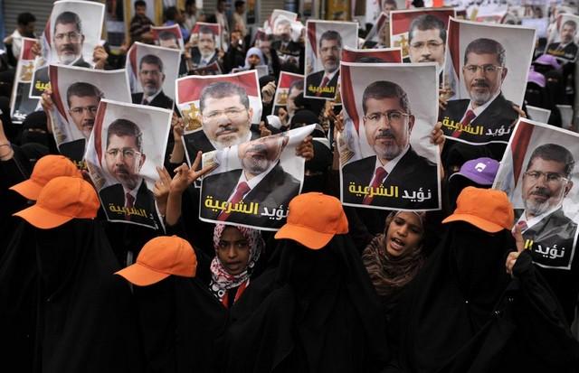 حامیان محمد مرسی