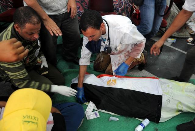 تیراندازی ارتش مصر