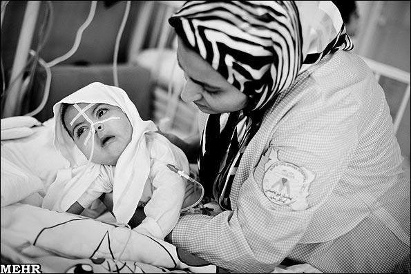 کودک در بیمارستان