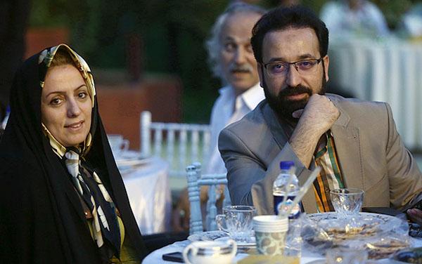 298062 945 - تصویر: فرزاد جمشیدی و همسرش در ضیافت افطار وزیر ارشاد