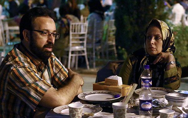 298063 355 - تصویر: فرزاد جمشیدی و همسرش در ضیافت افطار وزیر ارشاد