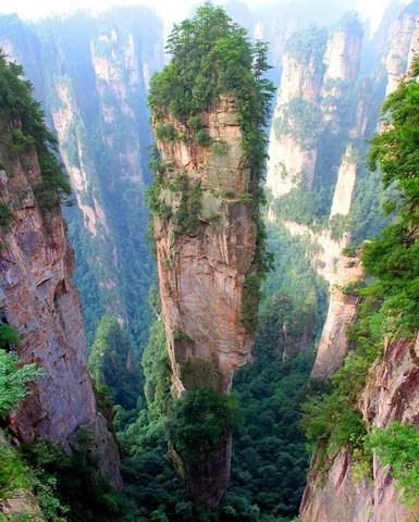 کوهسنان تیانزی، چین