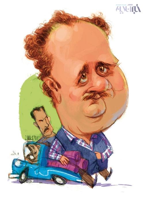 کاریکاتور هومن برقنورد