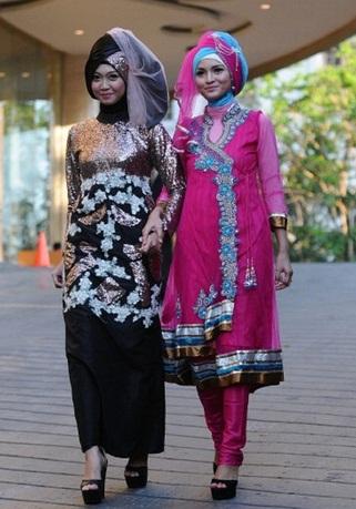 300606 564 - شو لباس زنان محجبه در اندونزی/ تصاویر