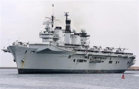 ناوهواپیمابر ارتش انگلیس به فروش گذاشته شد