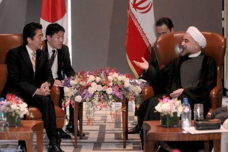 دیدارهای احمدی نژاد و روحانی در سازمان ملل