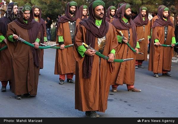 همه ی تصاویر مربوط به عزداری امام حسین در شهر های ایران