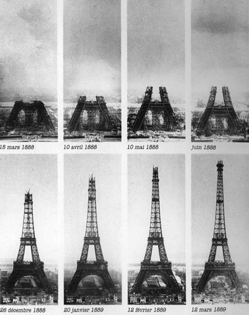 تلگرام ماهی صفت مراحل ساخت برج ایفل (+عکس)