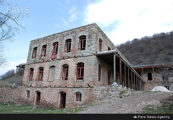 عمارت اینالو - آذربایجان شرقی/تصاویر