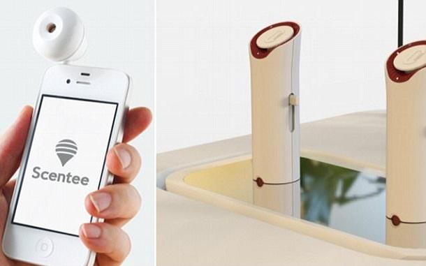 ارسال بو با تلفن همراه محقق میشود