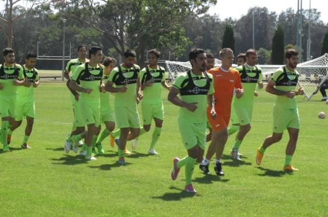 دومین تمرین تیم ملی ایران در سیدنی ( گزارش تصویری)