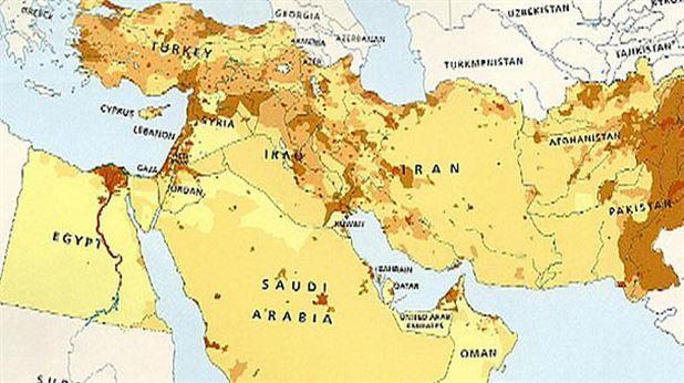 اسراییل از نقشه جهان محو شد (+عکس)