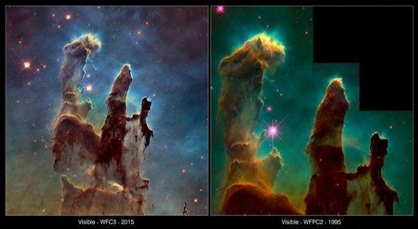جزئیات بیسابقه از «ستونهای آفرینش»+تصاویر