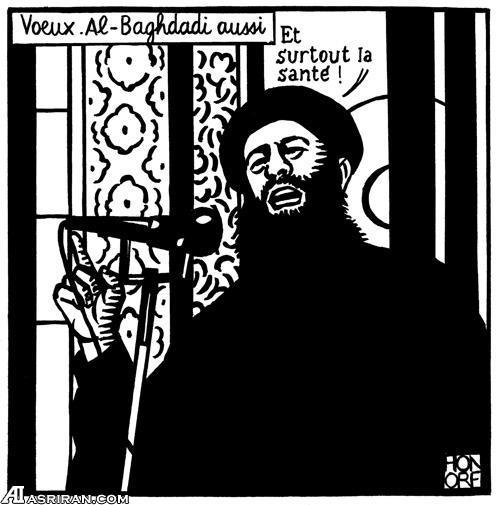 حمله تروریستی در قلب پاریس؛ 11 نفر کشته شدند/ کاریکاتور البغدادی ؛ علت حمله به دفتر نشریه؟!