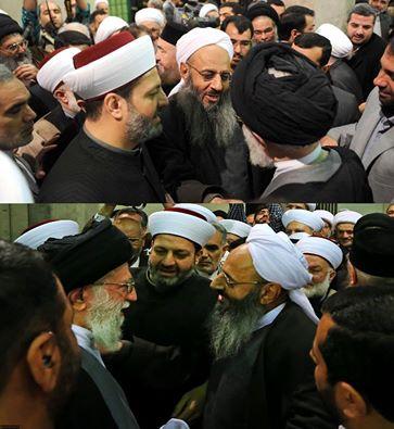 گفتگوی مولوی عبدالحمید با رهبری (عکس)
