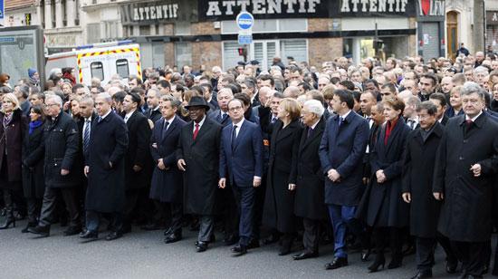 1.5 میلیون نفری اتحاد در پاریس (+ع )