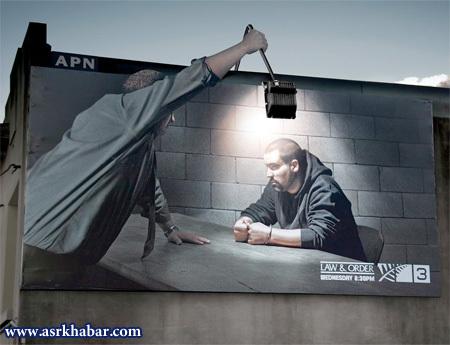 جالب ترین تبلیغات جهان (عکس)