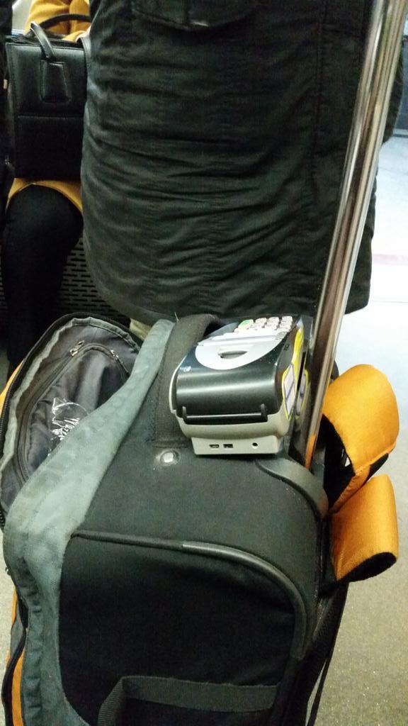دستفروشان مترو به کارتخوان مجهز شدند!