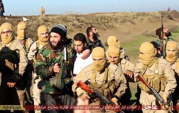 عکس داعش خلبان اردنی جنایات داعش اخبار داعش