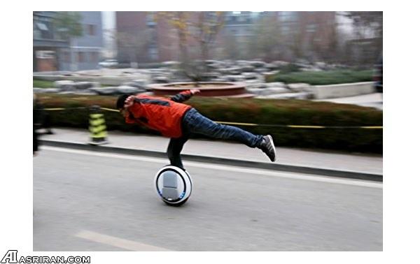 تجربه منحصر به فرد سواری با اسکوتر تک چرخ