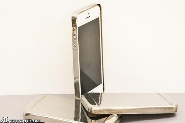 تولید قاب موبایل هوشمند از مادهای سه برابر سختتر از فولاد
