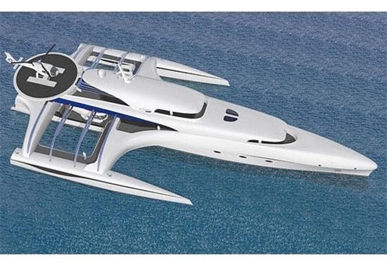 جدیدترین قایق تفریحی کروز (+عکس)