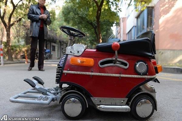 ساخت مینی خودرو با 240 دلار!