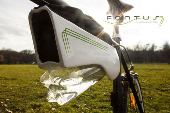 بطری که هوا را به آب تبدیل می کند (+عکس)
