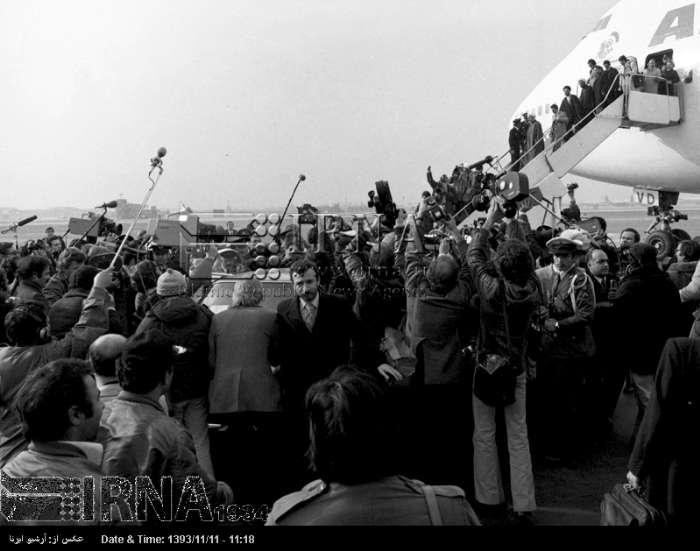 بازگشت امام به ميهن - 12 بهمن 1357 (عکس)
