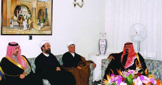 خاطرات همسر هاشمی از حضور ملک عبدالله در خانه شان