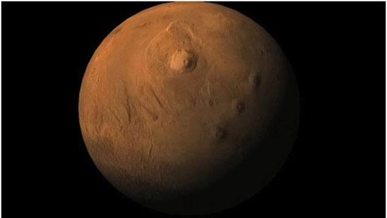 بزرگترین آتش فشان منظومه شمسی (+عکس)
