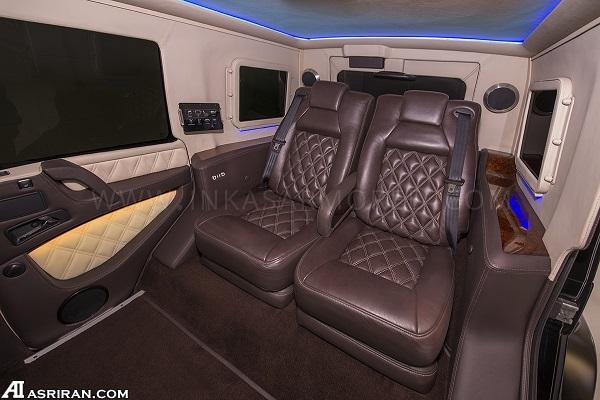 اینکاس مرسدس بنز G63؛ خودرو زرهی اشرافی