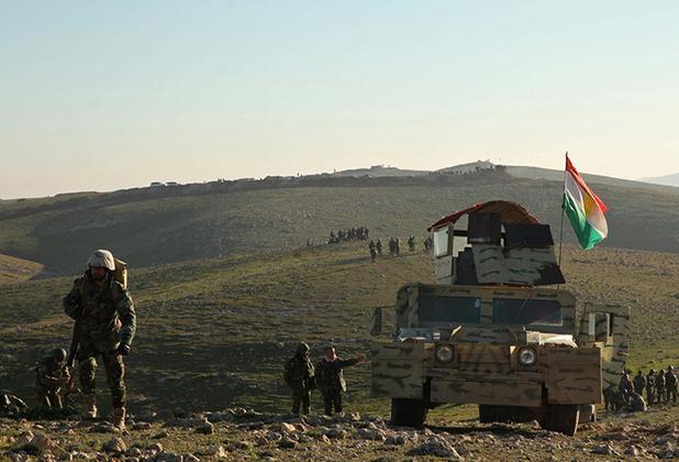 ورود نیروهای کرد به مرزهای مرکز خلافت داعش