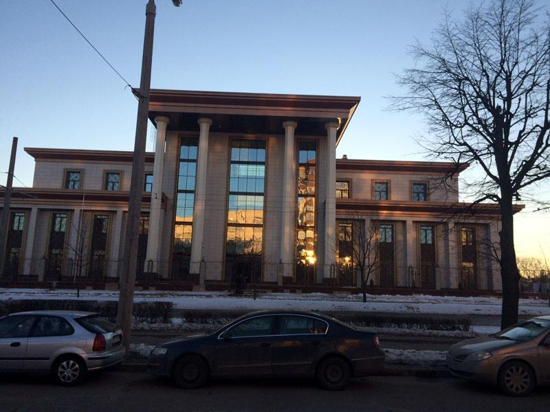 افتتاح ساختمان جدید سفارت ایران در بلاروس
