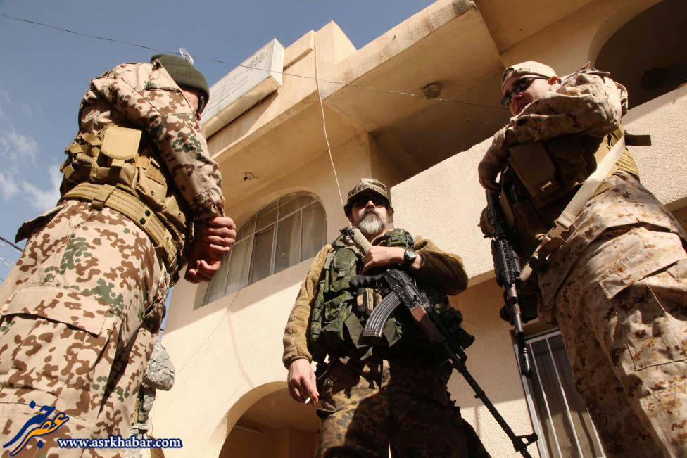 عجیب ترین جنگجویان علیه داعش (عکس)